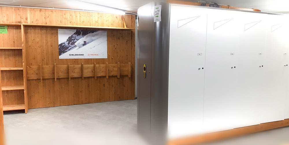 Ski storage Le Ski Lab