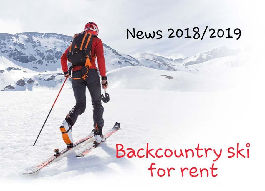 Skier touring